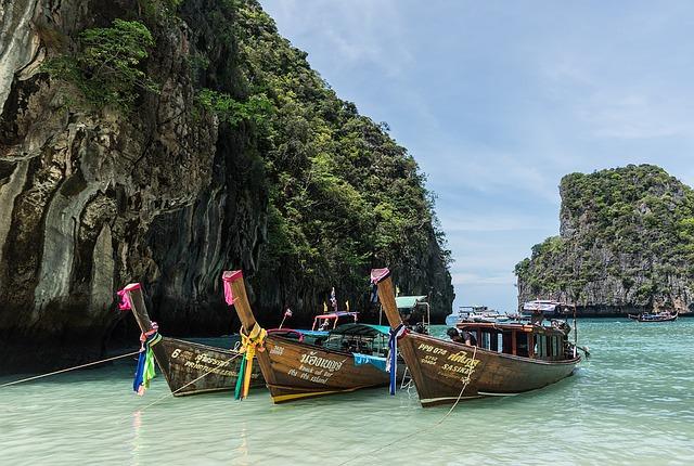 タイの海岸