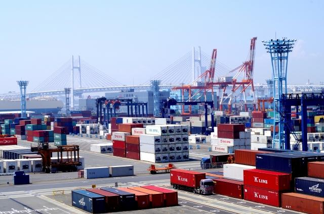 海外進出の際に輸送を行うための港